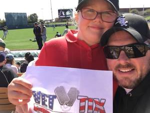Click To Read More Feedback from Chicago White Sox vs. Oakland Athletics - MLB Spring Training