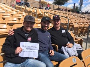 Jeffery attended Chicago White Sox vs. Texas Rangers - MLB Spring Training on Feb 28th 2018 via VetTix