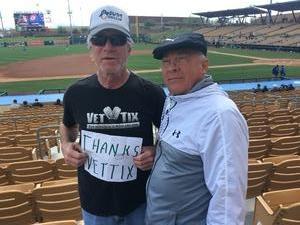 robert attended Chicago White Sox vs. Texas Rangers - MLB Spring Training on Feb 28th 2018 via VetTix