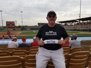 Donald attended Chicago White Sox vs. Cincinnati Reds - MLB Spring Training on Mar 7th 2018 via VetTix