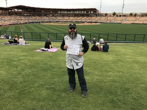 LOUIE attended Chicago White Sox vs. Cincinnati Reds - MLB Spring Training on Mar 7th 2018 via VetTix