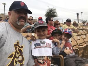 Jeremy attended Chicago White Sox vs. Cincinnati Reds - MLB Spring Training on Mar 7th 2018 via VetTix