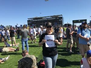 Terri attended Daytona 500 - the Great American Race - Monster Energy NASCAR Cup Series on Feb 18th 2018 via VetTix