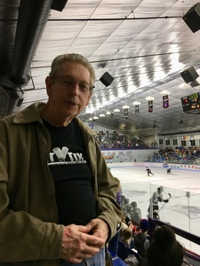 Terry attended Lone Star Brahmas vs. Kenai River Brown Bears - NAHL on Mar 3rd 2018 via VetTix