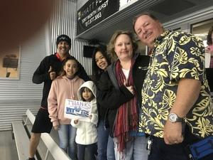 Jose attended Lone Star Brahmas vs. Amarillo Bulls - NAHL on Mar 24th 2018 via VetTix