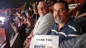 Andrea attended Greenville Swamp Rabbits vs. Orlando Solar Bears - Heroes Night - ECHL on Mar 10th 2018 via VetTix