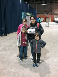 Carina attended Discover the Dinosaurs - Time Trek - Presented by Vstar Entertainment on Mar 31st 2018 via VetTix