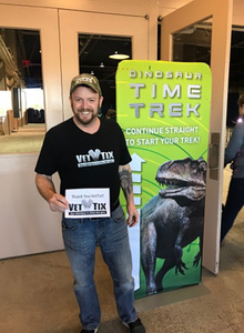 Walt attended Discover the Dinosaurs - Time Trek - Presented by Vstar Entertainment on Mar 31st 2018 via VetTix