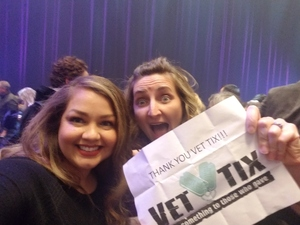 C. De Dios attended Cher Live at the MGM National Harbor Theater on Feb 22nd 2018 via VetTix