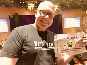 Thom attended Cher Live at the MGM National Harbor Theater on Feb 22nd 2018 via VetTix