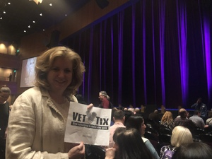 Karen attended Cher Live at the MGM National Harbor Theater on Feb 22nd 2018 via VetTix