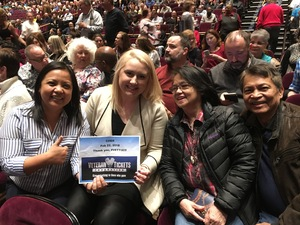 Maria attended Cher Live at the MGM National Harbor Theater on Feb 22nd 2018 via VetTix