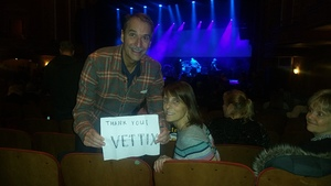 David attended G3 Featuring Joe Satriani, John Petrucci of Dream Theater, and Phil Collen of Def Leppard on Feb 25th 2018 via VetTix