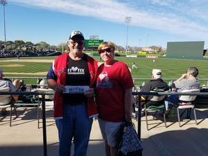 Click To Read More Feedback from Oakland Athletics vs. Texas Rangers - MLB Spring Training