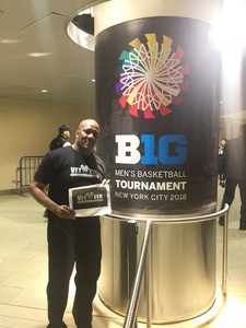 Click To Read More Feedback from 2018 Big Ten Basketball Tournament - NCAA - Session I