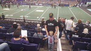 LaVern attended Arizona Rattlers vs. Sioux Falls Storm - IFL on Feb 25th 2018 via VetTix