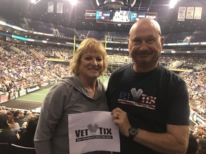 Larry attended Arizona Rattlers vs. Sioux Falls Storm - IFL on Feb 25th 2018 via VetTix