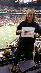 Tanya attended Arizona Rattlers vs. Sioux Falls Storm - IFL on Feb 25th 2018 via VetTix