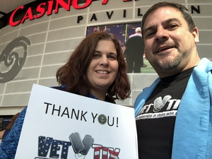 Joseph attended Arizona Rattlers vs. Sioux Falls Storm - IFL on Feb 25th 2018 via VetTix