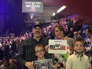 Brad Bennett attended The Breakers Tour Featuring Little Big Town With Kacey Musgraves and Midland on Feb 22nd 2018 via VetTix