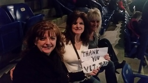 EDWARD attended The Breakers Tour Featuring Little Big Town With Kacey Musgraves and Midland on Feb 22nd 2018 via VetTix