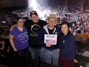 Kevin attended Brad Paisley - Weekend Warrior World Tour With Dustin Lynch, Chase Bryant and Lindsay Ell on Feb 22nd 2018 via VetTix