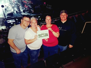 Dean attended Brad Paisley - Weekend Warrior World Tour With Dustin Lynch, Chase Bryant and Lindsay Ell on Feb 22nd 2018 via VetTix