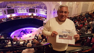 Stephen attended Jazz - Bill Charlap Trio and Cecile Mclorin Salvant - Live in Concert on Mar 9th 2018 via VetTix