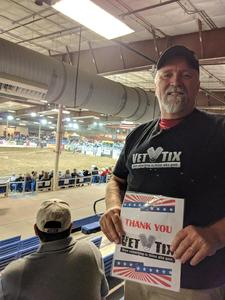 Earl attended The 65th Annual Parada Del Sol Rodeo - Bull Riding Only on This Night on Mar 8th 2018 via VetTix