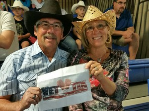 HOWARD attended The 64th Annual Parada Del Sol Rodeo - PRCA Rodeo on Mar 9th 2018 via VetTix