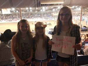 Justin attended The 64th Annual Parada Del Sol Rodeo - PRCA Rodeo on Mar 9th 2018 via VetTix