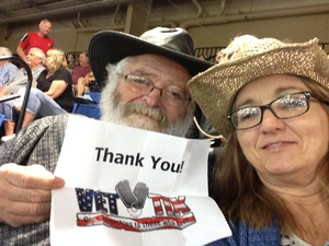 James attended The 64th Annual Parada Del Sol Rodeo - PRCA Rodeo on Mar 9th 2018 via VetTix