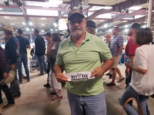 Donald attended The 65th Annual Parada Del Sol Rodeo - PRCA Rodeo - 2: 00 PM Start Time on Mar 11th 2018 via VetTix