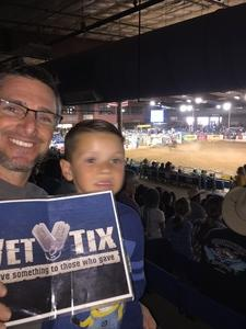 Jason attended The 65th Annual Parada Del Sol Rodeo - PRCA Rodeo - 2: 00 PM Start Time on Mar 11th 2018 via VetTix