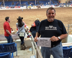 DJ attended The 65th Annual Parada Del Sol Rodeo - PRCA Rodeo - 2: 00 PM Start Time on Mar 11th 2018 via VetTix