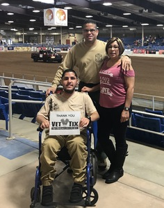 David attended The 65th Annual Parada Del Sol Rodeo - PRCA Rodeo - 2: 00 PM Start Time on Mar 11th 2018 via VetTix