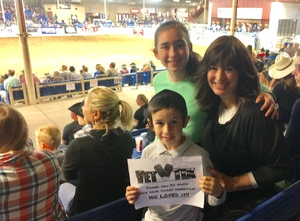Rochel attended The 65th Annual Parada Del Sol Rodeo - PRCA Rodeo - 2: 00 PM Start Time on Mar 11th 2018 via VetTix