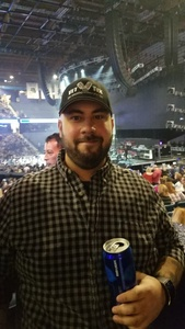 Stephen attended Brad Paisley - Weekend Warrior World Tour With Dustin Lynch, Chase Bryant and Lindsay Ell on Feb 24th 2018 via VetTix