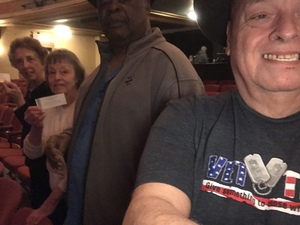 Lenny attended The Edgar Winter Band on Mar 9th 2018 via VetTix