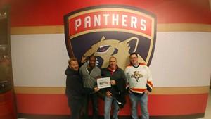 MARTIN attended Florida Panthers vs. Washington Capitals - NHL on Feb 22nd 2018 via VetTix