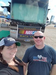 Jared attended 2018 TicketGuardian 500 - Monster Energy NASCAR Cup Series on Mar 11th 2018 via VetTix
