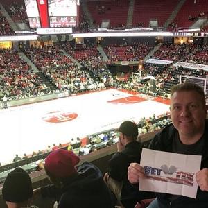 Scott attended Temple University Owls vs. UCF - NCAA Men's Basketball on Feb 25th 2018 via VetTix