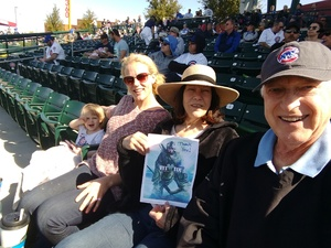 Lee attended Chicago Cubs vs. Chicago White Sox - MLB Spring Training on Feb 27th 2018 via VetTix