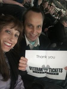 Linda attended Dallas Stars vs. Tampa Bay Lightning - NHL on Mar 1st 2018 via VetTix