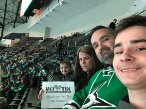 david attended Dallas Stars vs. Tampa Bay Lightning - NHL on Mar 1st 2018 via VetTix