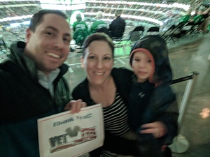 Raymond attended Dallas Stars vs. Tampa Bay Lightning - NHL on Mar 1st 2018 via VetTix
