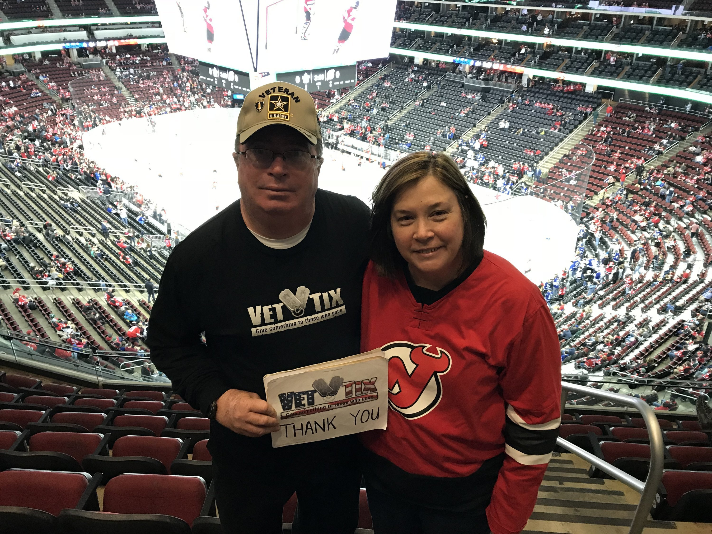 Thank you messages to veteran tickets foundation donors robert attended new jersey devils vs toronto maple leafs nhl 21 squad tickets m4hsunfo
