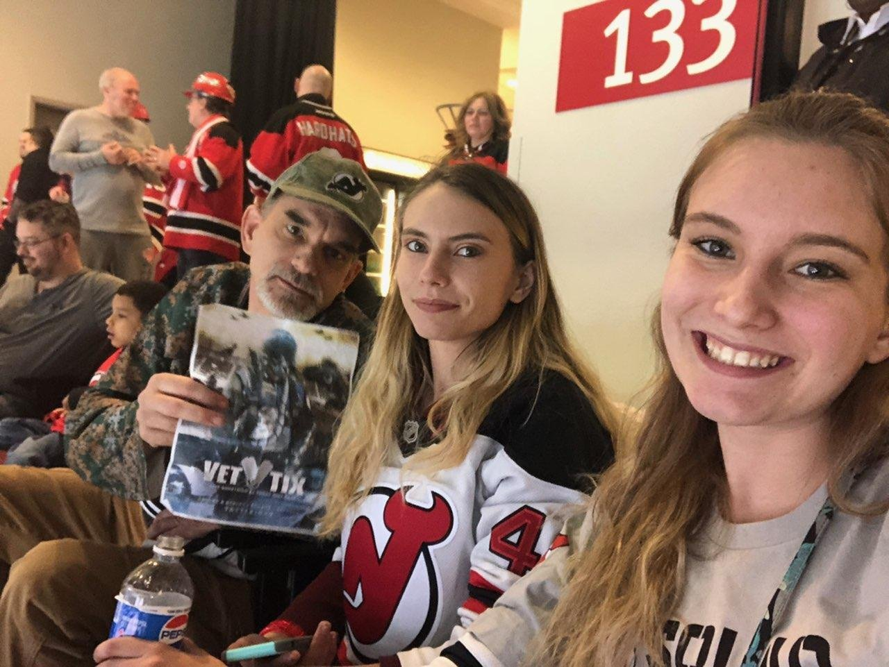 Thank you messages to veteran tickets foundation donors james rossmeissl attended new jersey devils vs toronto maple leafs nhl 21 squad m4hsunfo