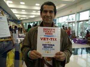 Marvin attended Daytona Beach Comic Con - Sunday on Apr 22nd 2018 via VetTix