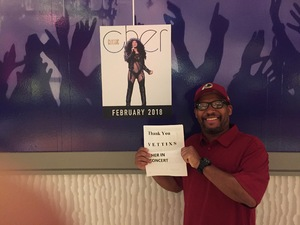 Click To Read More Feedback from Cher Live at the MGM National Harbor Theater